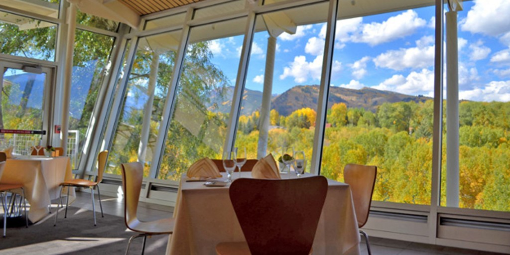 Enjoy classic cuisine and great views at Plato's Restaurant.