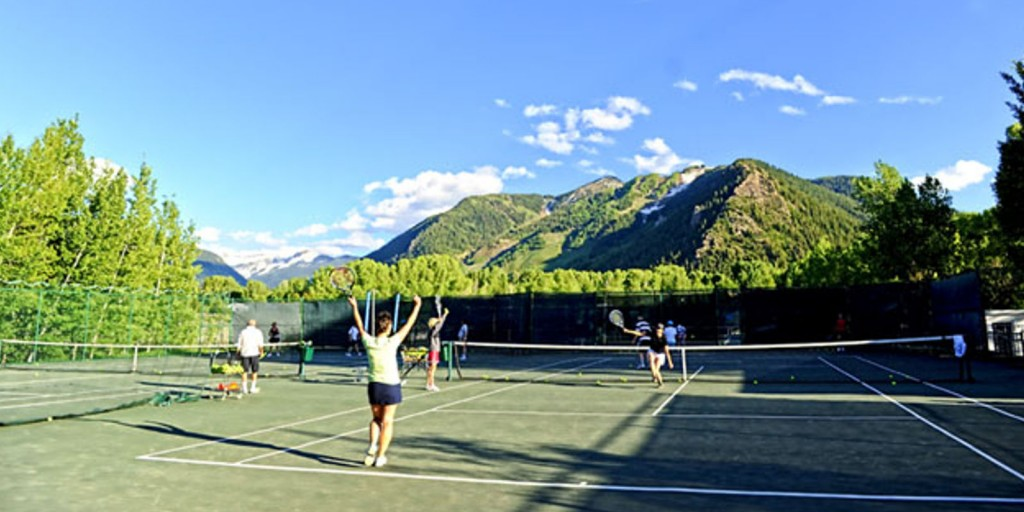 Play a thrilling game of tennis.