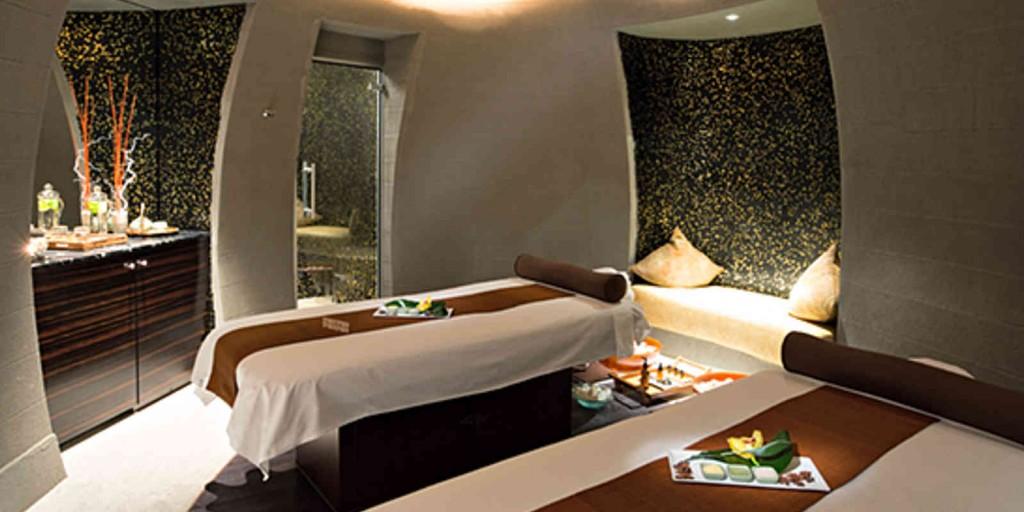 The peaceful Mandara Spa treatment room.