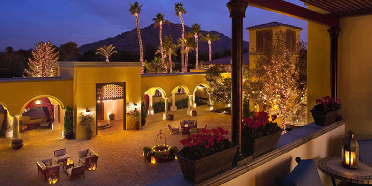 Enjoy star gazes and walks within the Montelucia courtyard.