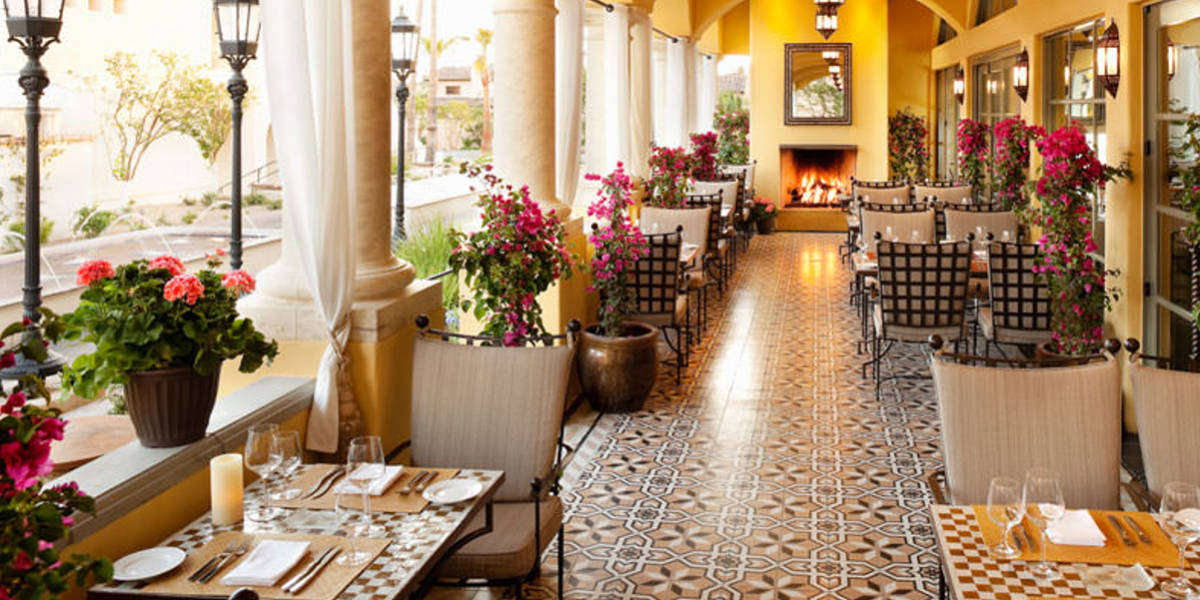 Savour Mediterranean inspired cuisine at the award winning Prado restaurant.