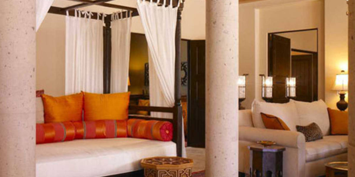 Guest suites reflect a rich historical Spanish architecture.
