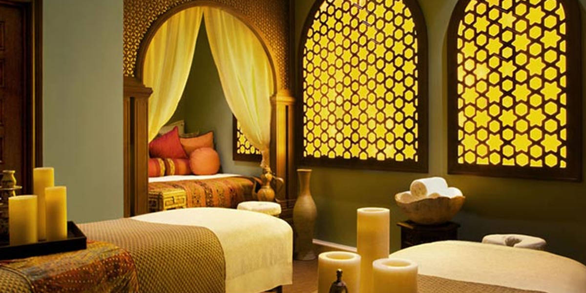 Enjoy traditional massages and Moroccan body treatments.