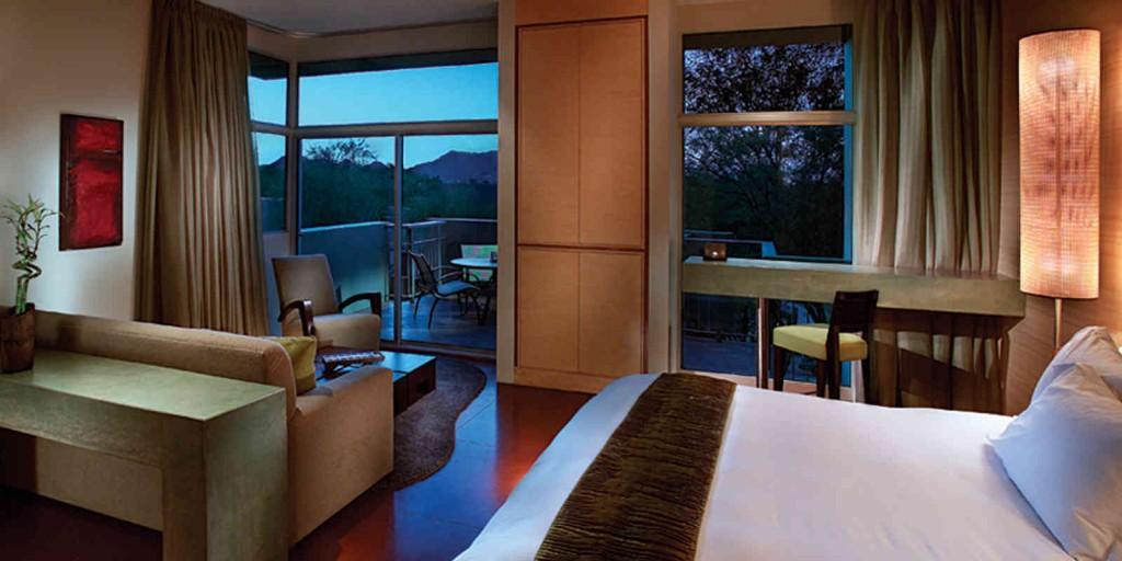 Relax in a spacious Spa Casita.